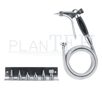 Hela Cleaning-Kit with Premiumset, 3m stainless steel hose